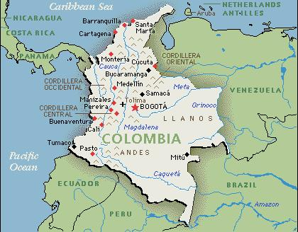 an introduction to the country of colombia Colombia - nature and wildlife  while there is a large population of terrestrial mammals in the country, colombia's two  colombia introduction country.